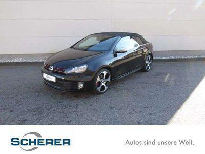 gebraucht VW Golf Cabriolet GTI VI 2.0 TSI DSG NAVI XENON LEDER DCC