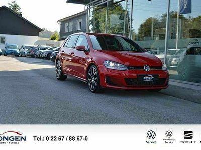 gebraucht VW Golf VII 2.0 TSI GTI Navi Xenon LM Felgen 19 Klima