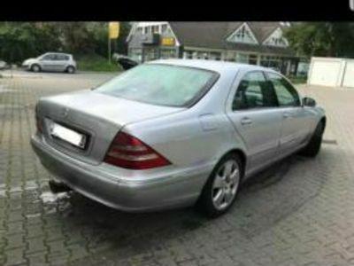gebraucht Mercedes S320 mit LPG Anlage.