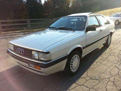gebraucht Audi Quattro 2.2 GT Typ 85 Perlmutweiß 137t Tüv