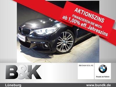 gebraucht BMW 420 d Cabrio (Navi Xenon Leder Klima el. Fenster)