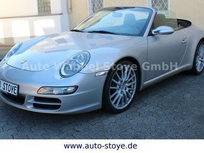 gebraucht Porsche 911 Carrera Cabriolet 997 BiXenon Navi Leder Scheckheft
