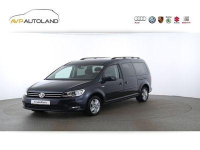 gebraucht VW Caddy Maxi Comfortline TDI 110 kW DSG | AHK schwarz