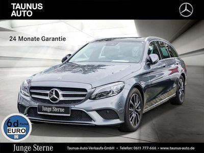 gebraucht Mercedes C220 d T-AVANTGARDE-COMAND-PANO-MULTIBEAM-KAM