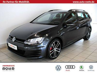 gebraucht VW Golf Variant VII GTD (AHK,GRA,ParkPilot,Xenon,Klima) 2.0 TDI B