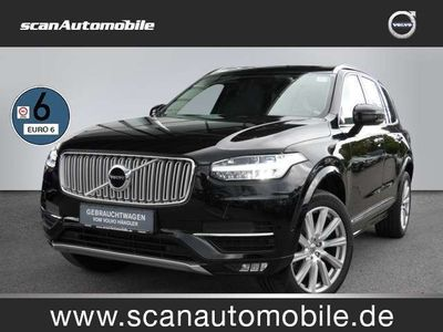 gebraucht Volvo XC90 D5 DPF AWD Inscription AWD Bluetooth Navi LED