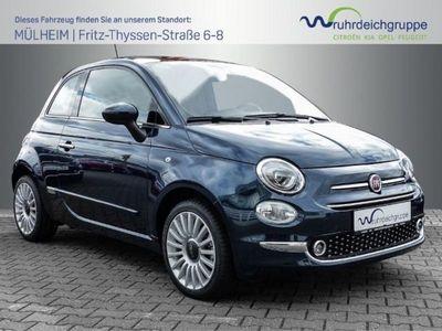 gebraucht Fiat 500 1.2 Lounge + UConnect Navi