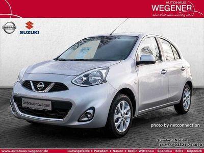 gebraucht Nissan Micra 1.2 Acenta FSE KLIMA SHZ 3,99% EFF*