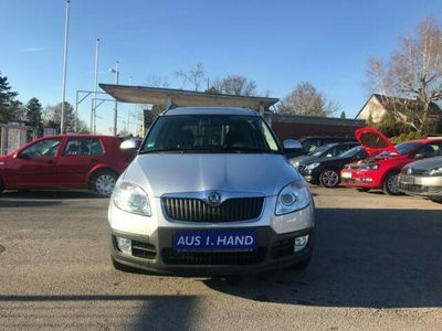 gebraucht Skoda Roomster Scout PLUS EDITION 1HD PANORAMA SHZ 8 fach Alu