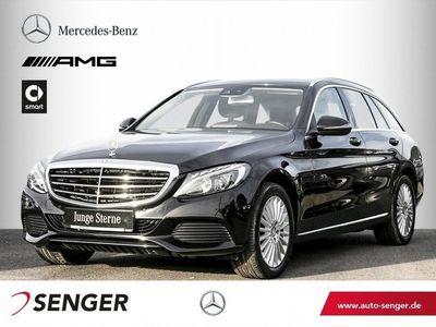 gebraucht Mercedes C220 d T *Exclusive*Comand*LED*Parktronic*AHK*