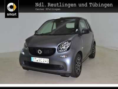 gebraucht Smart ForTwo Cabrio 52kW passion DCT cool&Audio SHZ
