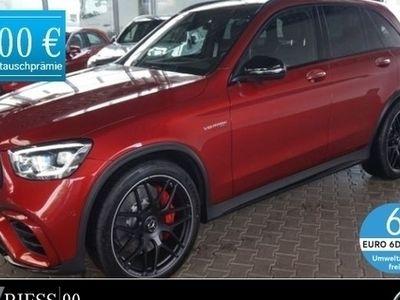 gebraucht Mercedes GLC63 AMG S 4M+ Pano Mulitbeam Keyless MBUX DriverP