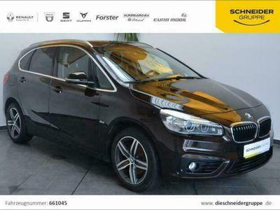 gebraucht BMW 218 2er Active Tourer i Sport Line Navi, SHZ, LED