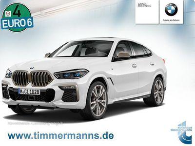 gebraucht BMW X6 M50d Navi Leder Glasdach LED Scheinwerfer Bluetooth