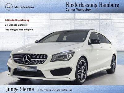 gebraucht Mercedes CLA250 Shooting Brake 4M AMG Line Pano-Dach