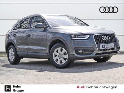 gebraucht Audi Q3 2.0TDI Xen Climatr Einpark Tempo Sitzh ZV Alu