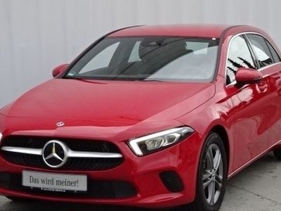 gebraucht Mercedes A200 PROGRESSIVE+NAVI+MBUX+LED+AHK+MEMO+KAMERA