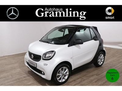 gebraucht Smart ForTwo Cabrio 66 KW *passion*twinamic*Col&Audio*