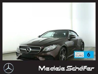 käytetty Mercedes E300 Cabrio AMG 9G LED Kam Navi Totw Park Sitz AMG Line
