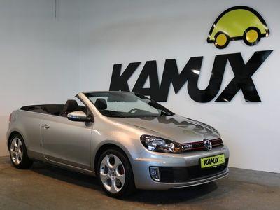 gebraucht VW Golf Cabriolet VI GTI 2.0 TSI +Navi +Sport-Fahrwerk +Sportsitze +AHK +