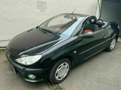gebraucht Peugeot 206 CC Cabrio 1.6 tüv 07-23 klimaautomatik