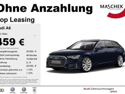 gebraucht Audi A6 Avant S line 50 TDI ACC B&O DAB Leder virtual S