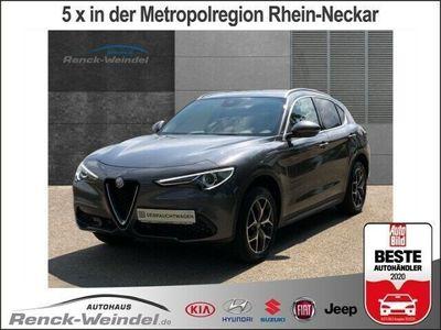 gebraucht Alfa Romeo Stelvio Super Q4 2.0 Turbo Leder Navi Keyless Dy