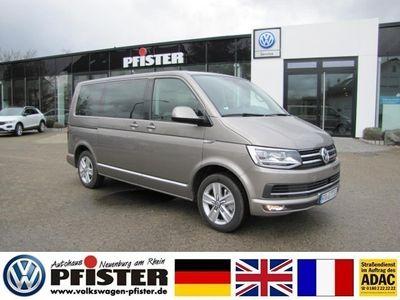gebraucht VW Multivan Bus T6Highline Navi+Leder+Standheizung