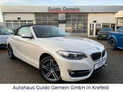 gebraucht BMW 220 i Cabrio Luxury Line Auto. LEDER LED NAVI PDC