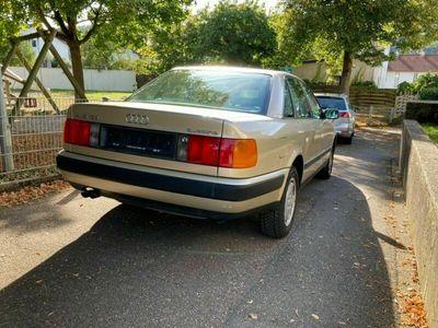 gebraucht Audi 100 C4 2.3E Quattro 1. Hand Scheckhef...