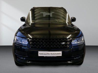 gebraucht Land Rover Range Rover V8 SC Autobiograph Head Up 21 Black Design Felgen Standheizung