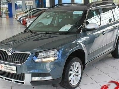 gebraucht Skoda Yeti Outdoor 1,6 TDI AMBITION GREEN NAVI INCL.36