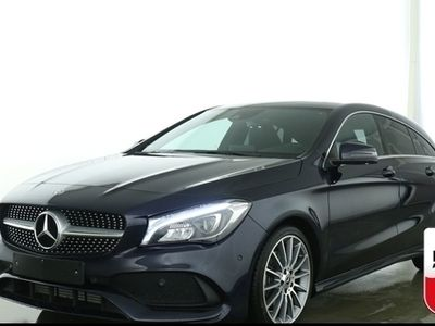 gebraucht Mercedes CLA250 Shooting Brake AMG Line LED Panorama