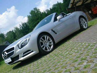 gebraucht Mercedes SL500 Roadster*Navi*2.Hd*Scheckheft*BRD Fzg.*Airscarf