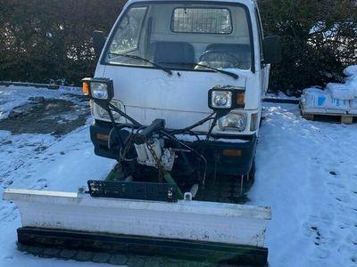 gebraucht Piaggio Porter Winterdienst