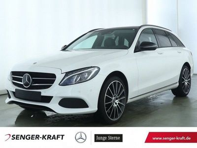 "gebraucht Mercedes C400 T 4M+19""AMG+PANORAMA-SD+NAVI+AHK+LED+NIGHT"