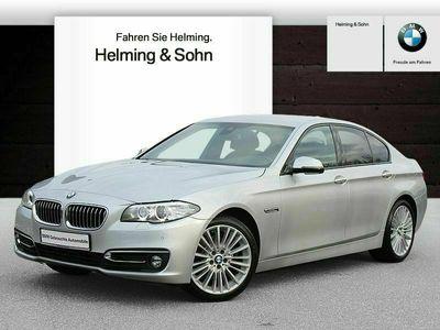 gebraucht BMW 520 d xDrive Luxury Line Head-Up Leder Xenon