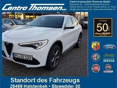gebraucht Alfa Romeo Stelvio Super Navi Xenon Leder 4 J. Garantie