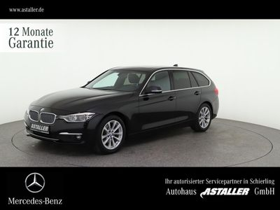 gebraucht BMW 320 d Touring Luxury Line NaviProf+ExclusivP+Pan