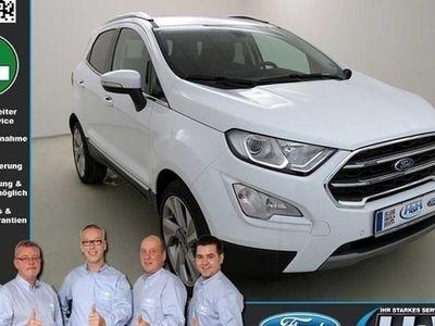 gebraucht Ford Ecosport 1.0 EcoB Titanium (AHK,EasyDriver*Paket4)