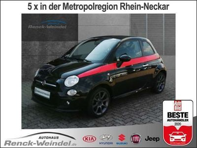 gebraucht Fiat 500C S 1.2 8V El. Verdeck Multif.Lenkrad NR Knieairbag Klima PDC CD USB MP3 ESP Faltdach