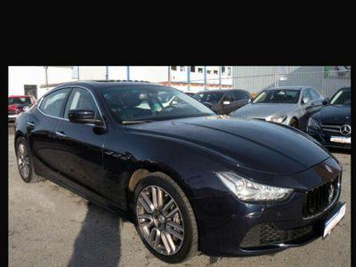 gebraucht Maserati Ghibli 3.0 V6 Diesel Automatik*PANO*PDC*NAVI*TOTWINKEL*