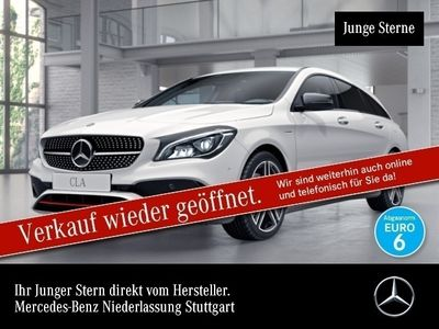 gebraucht Mercedes CLA250 Shooting Brake 4M AMG Perf-Sitze Harman LED Night Navi