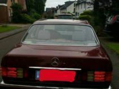 gebraucht Mercedes 260 W1261. Hand Scheckheft Klimaanlage