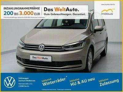 gebraucht VW Touran 2.0 TDI DSG COMFORTL. +LED+RFK+NAVI+ACC++