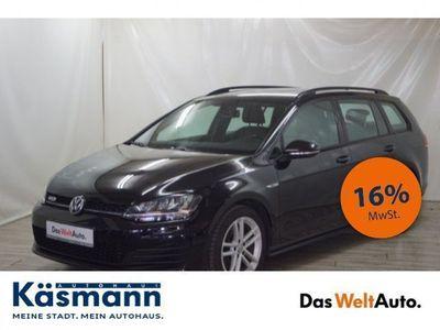gebraucht VW Golf VII Variant GTD VII 2.0 BI-XENON+AHK+NAVI+LEDER