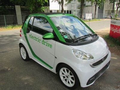 used Smart ForTwo Electric Drive cabrio Navi SH Alu