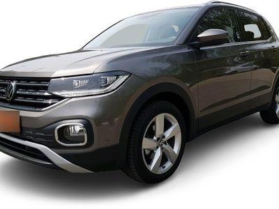 "gebraucht VW T-Cross T-Cross - Style Navi AHK ACC MFK LM17"" SHZ PDC TFL MFA AppConnect DAB+"