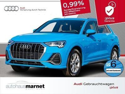 gebraucht Audi Q3 35 TFSI S line LED Navi el. Sitze virtual cockpit drive select