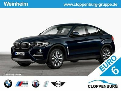 gebraucht BMW X6 xDrive50i GSD RFK Navi Prof. Klimaaut. Shz